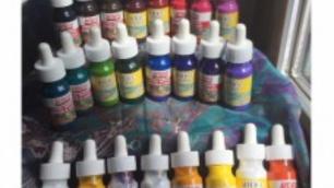 Ebru Artdeco Set - 23 farieb + Extender (30 ml každá farba)
